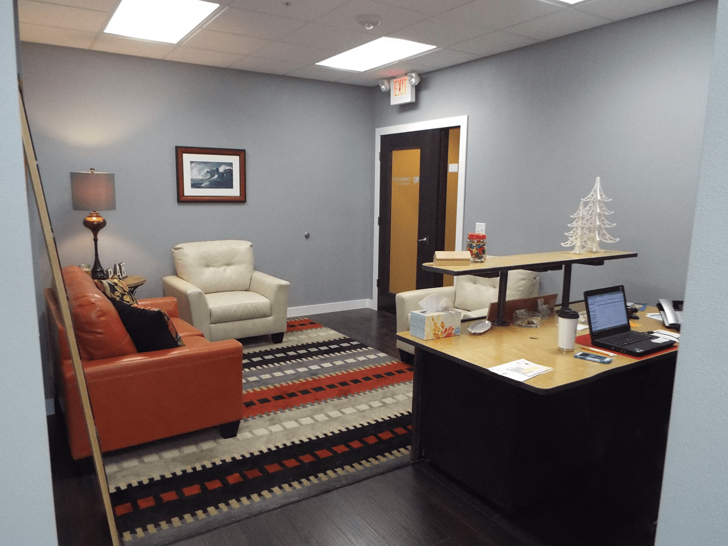 Thrivent Financial - Reception area
