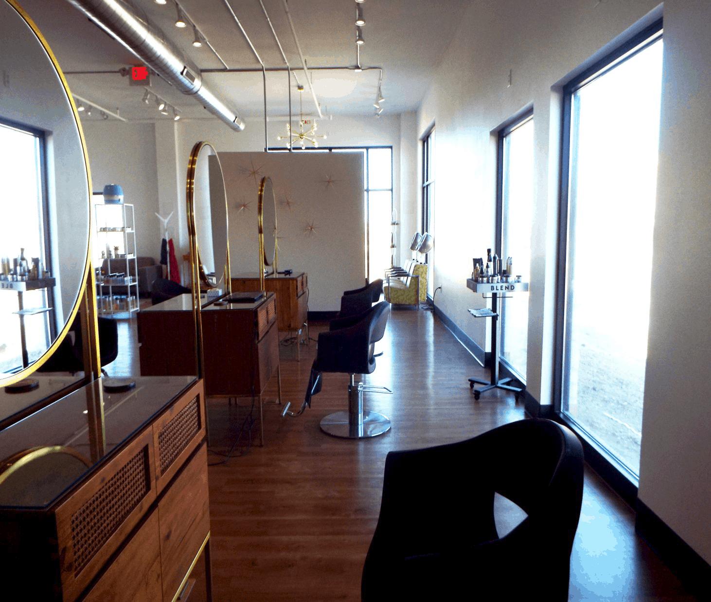 Urban Etta Salon Work Area