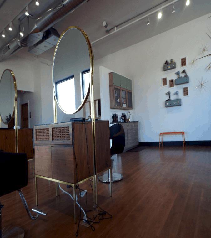 Urban Etta Salon Main Area