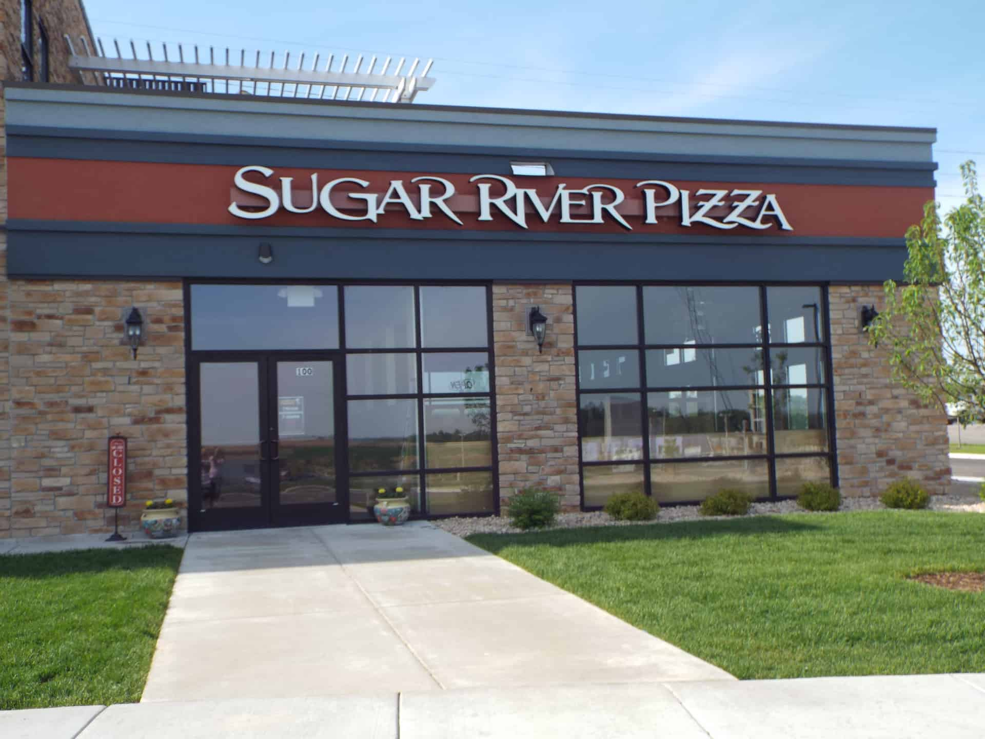 Sugar River Pizza Entrance